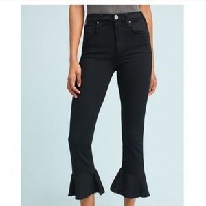 McGuire Womens The Bohemia Jean Black high rise
